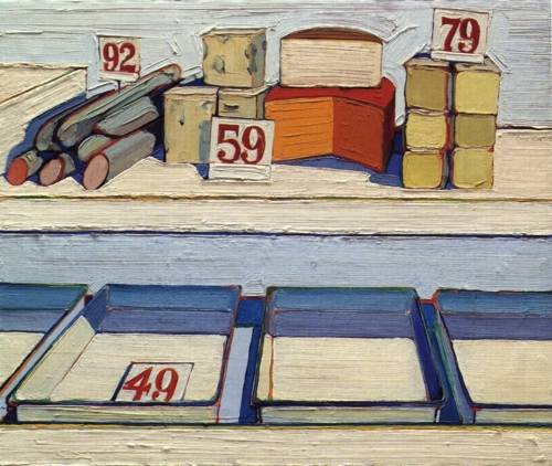 Delicatessen Counter - Wayne Thiebaud