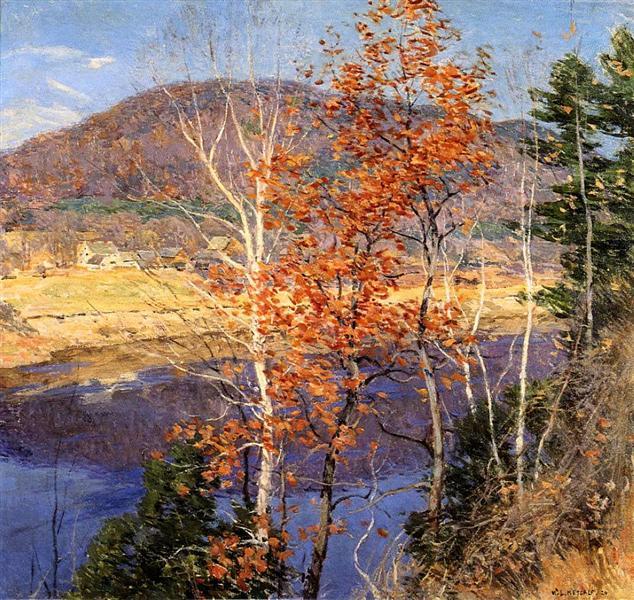 Closing Autumn, 1924 - Willard Metcalf