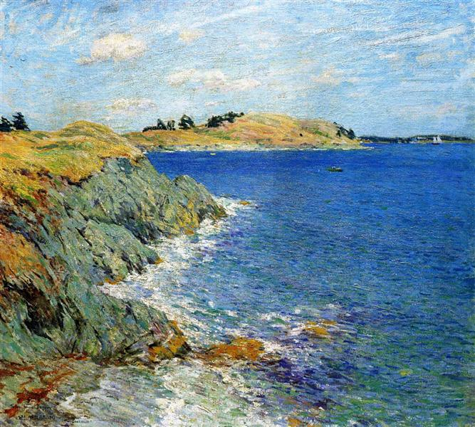 Ebbing Tide, Version Two, 1907 - Willard Metcalf