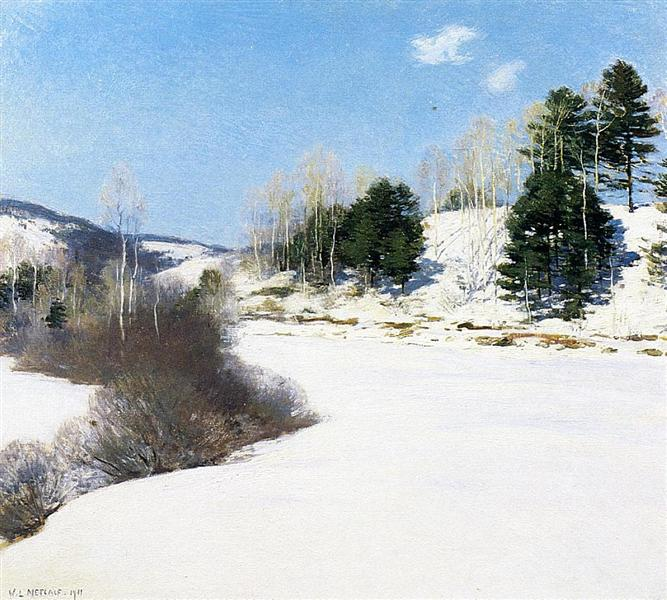 Hush of Winter, 1911 - Willard Metcalf
