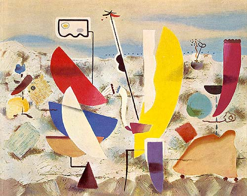 Happy Day, 1947 - Willi Baumeister