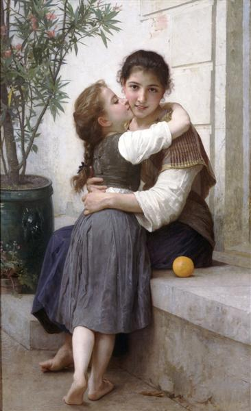 A Little Coaxing, 1890 - William-Adolphe Bouguereau