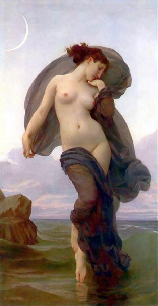 Twilight or Dusk or Evening Mood, c.1882 - William-Adolphe Bouguereau