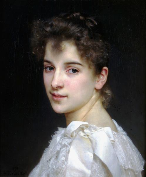 PortraitofGabrielleCot, 1890 - William-Adolphe Bouguereau