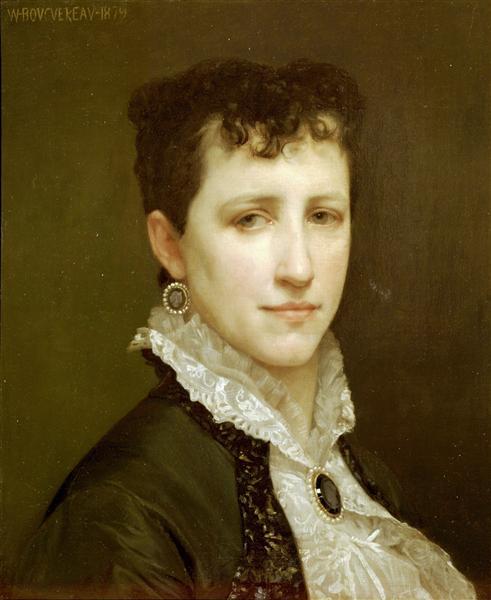 Portrait of Miss Elizabeth Gardner, 1879 - William-Adolphe Bouguereau