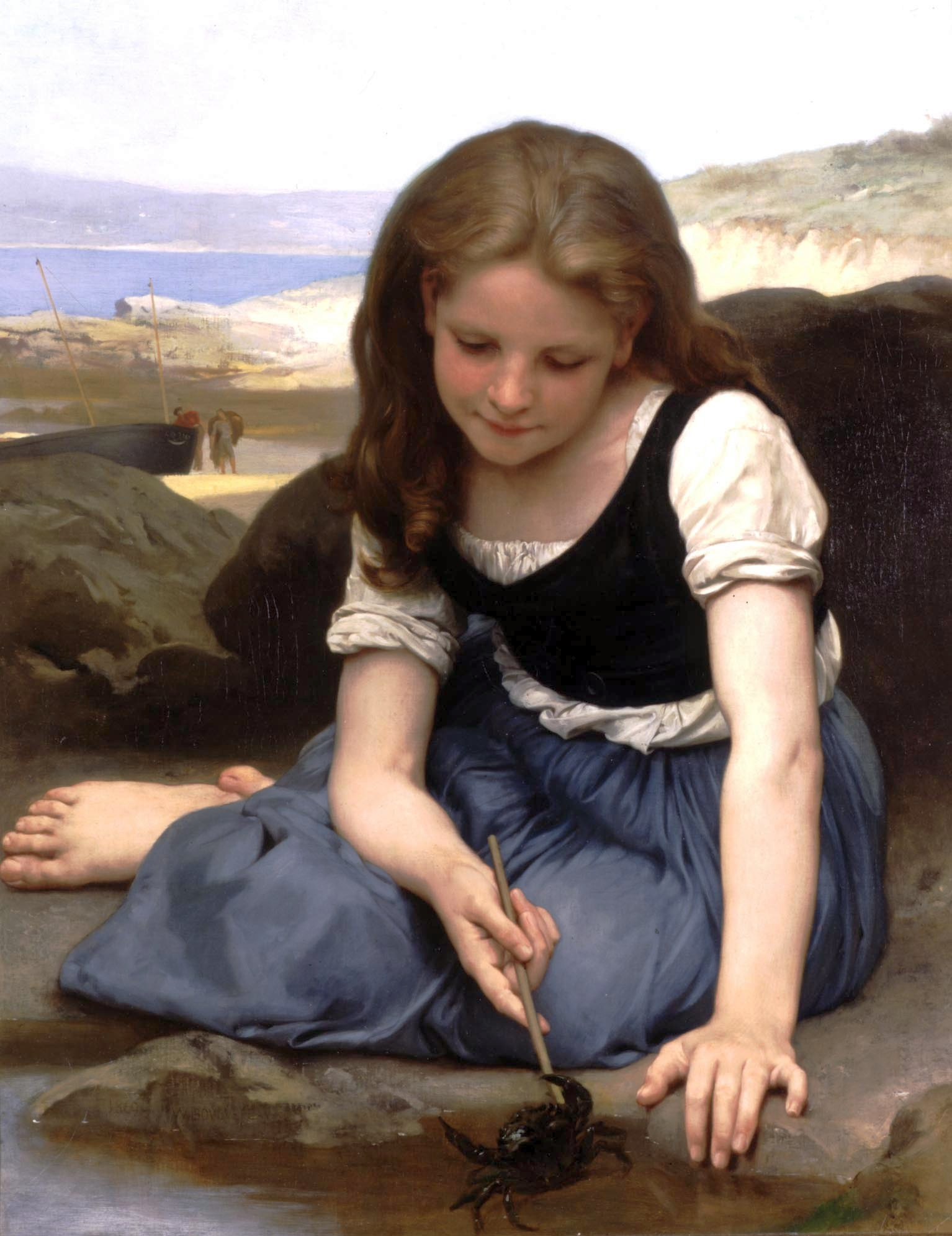 the crab 1869   william adolphe bouguereau   wikiart org