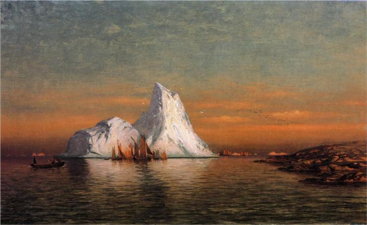 Fishing Fleet off Labrador, 1884 - William Bradford