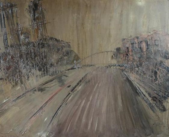 Notre Dame, 1955 - William Congdon