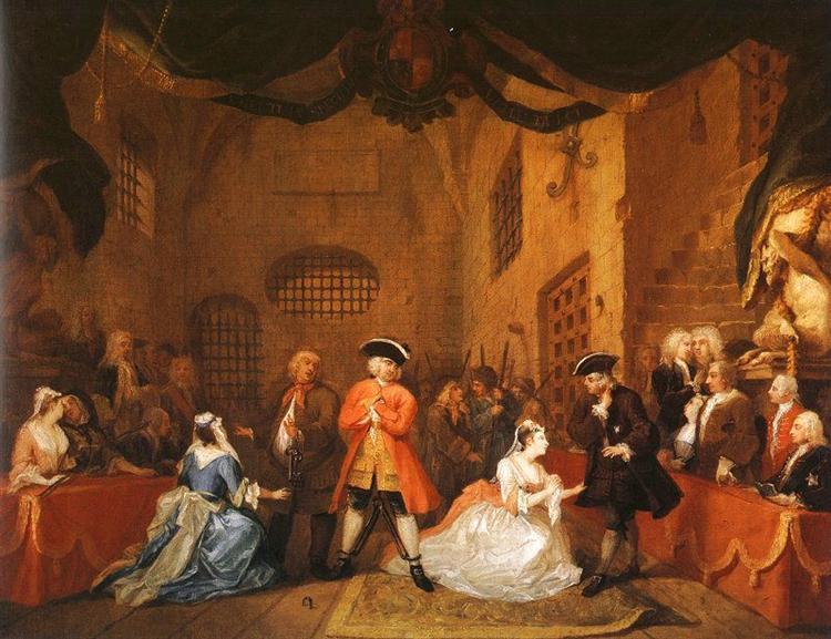 The Beggar's Opera, 1729 - William Hogarth