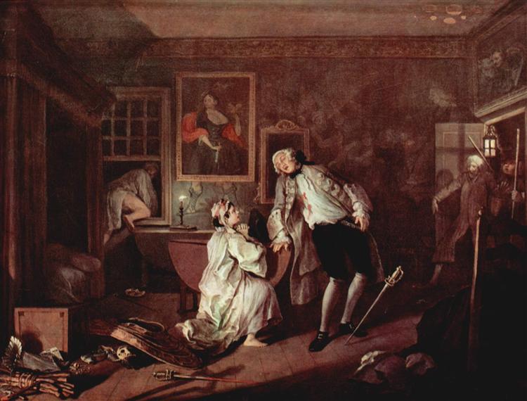 The murder of the count, c.1743 - c.1745 - William Hogarth