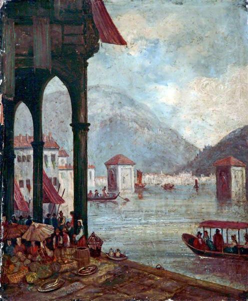 Lake Como, Italy - William Leighton Leitch