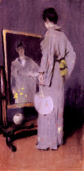 Making Her Toilet, 1889 - William Merritt Chase