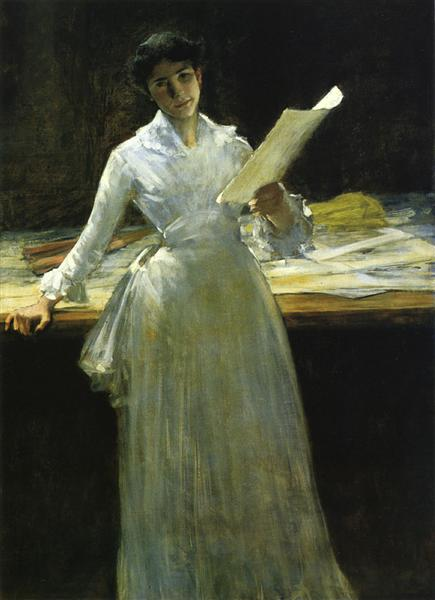 Memories, 1910 - William Merritt Chase