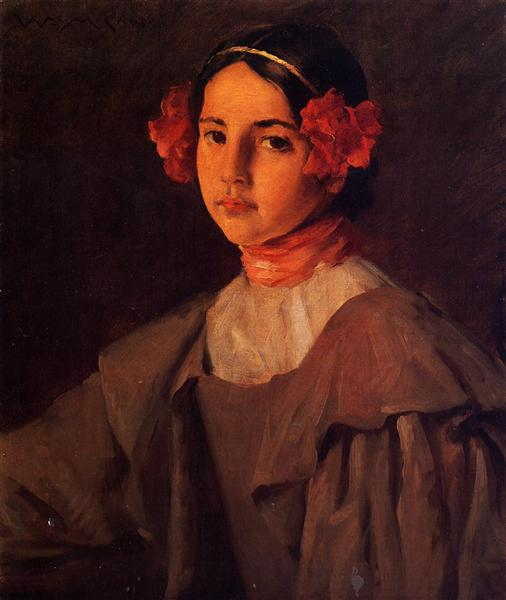 My Daughter Alice, c.1898 - c.1899 - William Merritt Chase