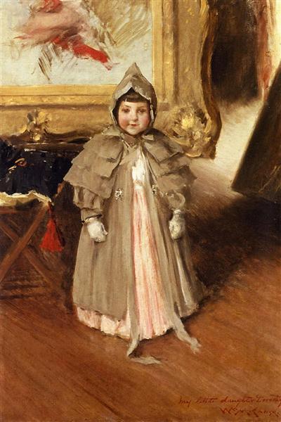 My Little Daughter Dorothy, 1894 - William Merritt Chase