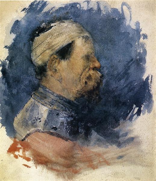 Portrait of a Man, c.1879 - William Merritt Chase