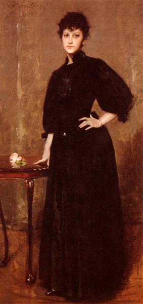 Portrait of Mrs. C, 1888 - William Merritt Chase