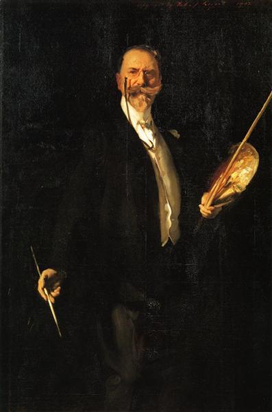 Portrait, 1902 - William Merritt Chase