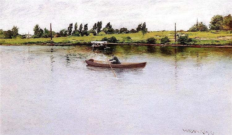Pulling for Shore, 1886 - William Merritt Chase