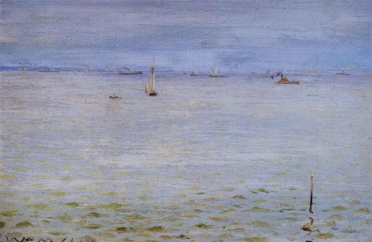 Seascape, c.1888 - William Merritt Chase