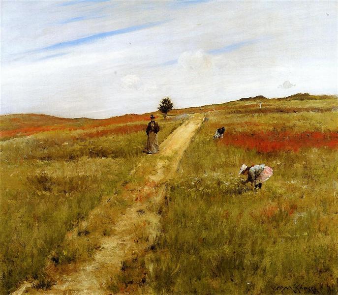 Shinnecock Hills (Shinnecock Hills Autumn), 1893 - William Merritt Chase
