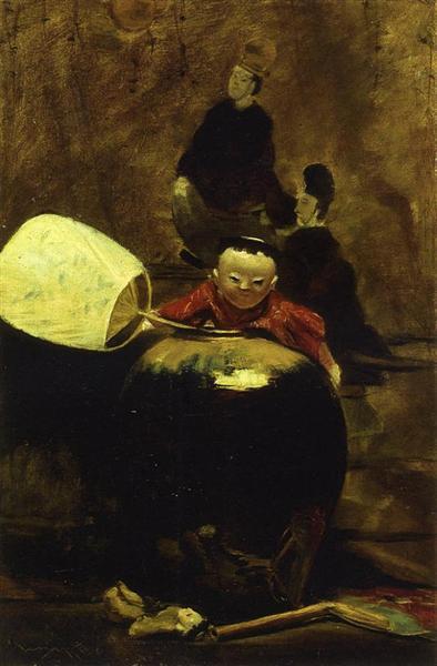The Japanese Doll, 1890 - William Merritt Chase