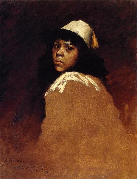 The Moroccan Girl - William Merritt Chase
