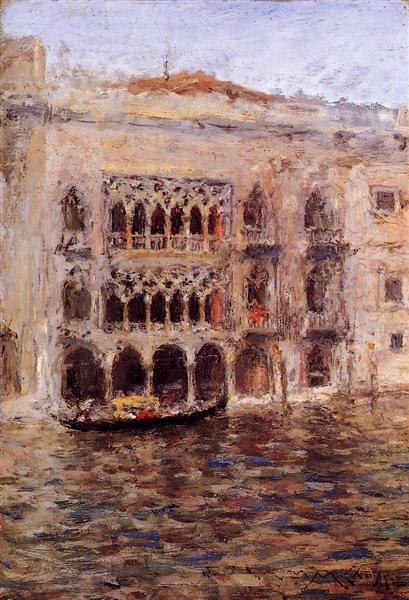 Venice, 1913 - William Merritt Chase