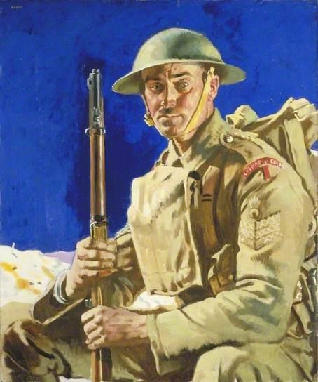 A Grenadier Guardsman, 1917 - William Orpen
