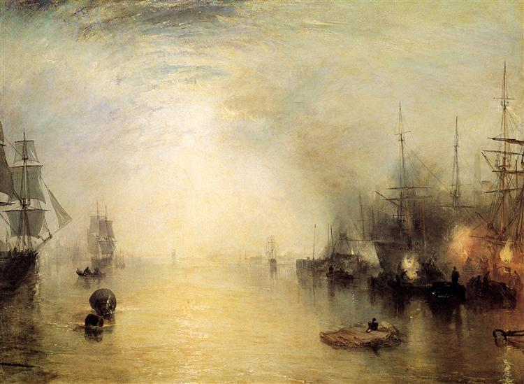 Keelmen heaving in coals by night - Joseph Mallord William Turner