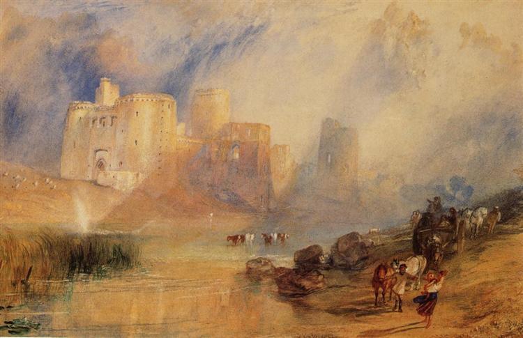 Kidwelly Castle - J.M.W. Turner