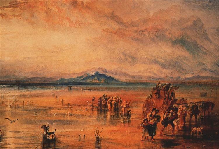 Lancaster Sands - J.M.W. Turner