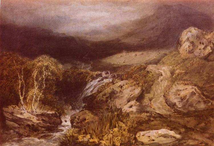 Mountain Stream, Coniston - William Turner