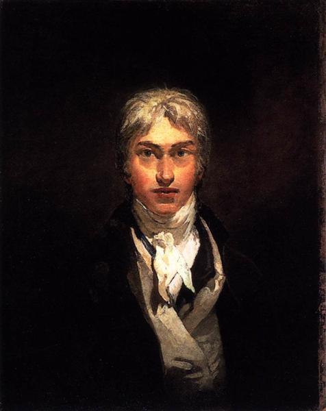 Self-Portrait, c.1799 - J.M.W. Turner