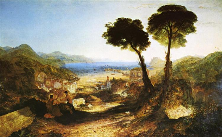 The Bay of Baiae, with Apollo and the Sibyl, c.1823 - J.M.W. Turner