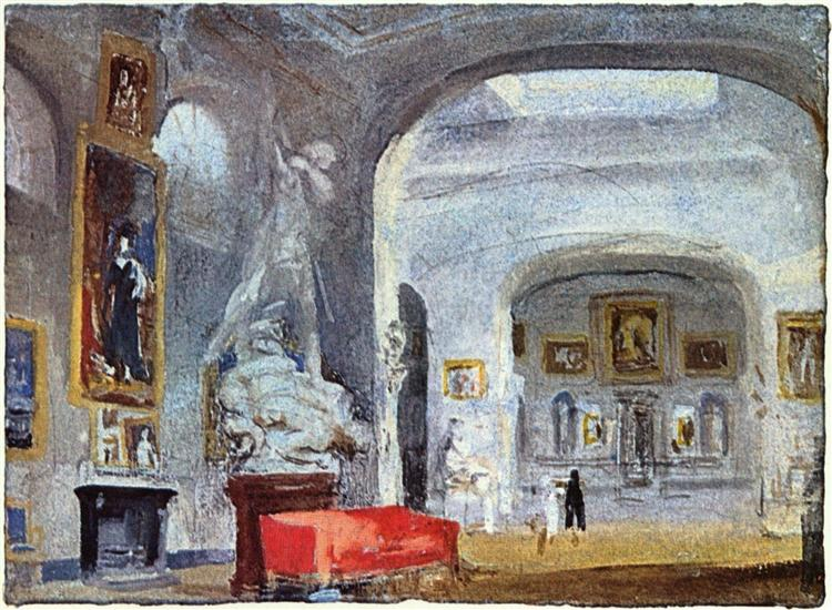 The Nordgalerie - J.M.W. Turner