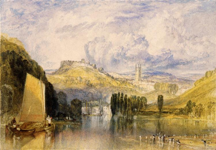 Totnes, in the River Dart - J.M.W. Turner