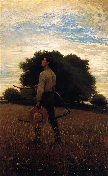 Song of the Lark (also known as In the Field) - Winslow Homer
