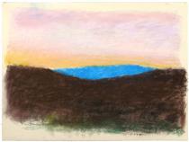 Evening Distance - Wolf Kahn