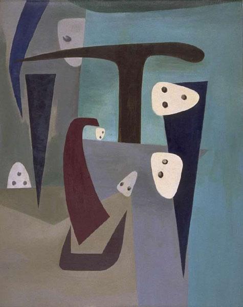 Paysage Boreal - Wolfgang Paalen