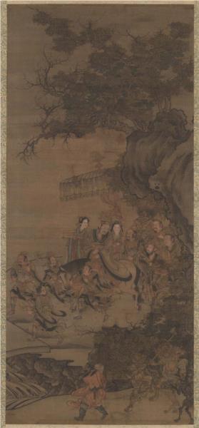Daoist deity of earth - Wu Daozi