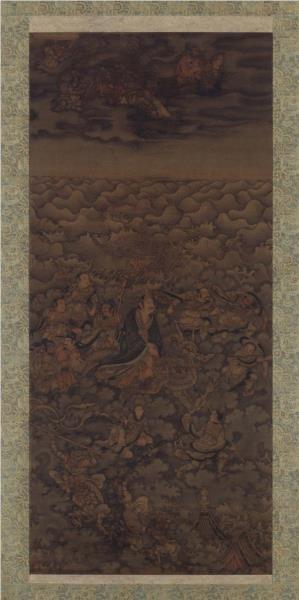 Daoist deity of water - Wu Daozi