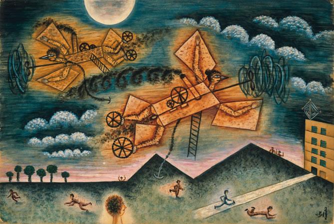 Mestizos de Avión y Gente, 1936 - Xul Solar