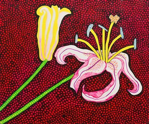 Ready to Blossom in the Morning, 1989 - Yayoi Kusama