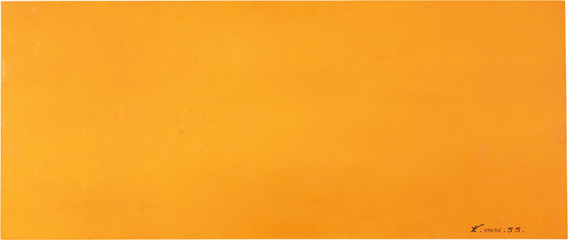 Expression of the universe of the color lead orange 1955 - How to make the color orange ...