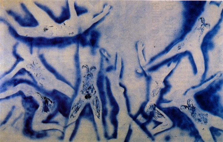 People begin to fly, 1961 - Yves Klein