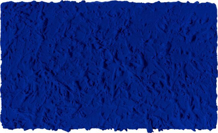 Untitled Blue Monochrome, 1960 - Yves Klein