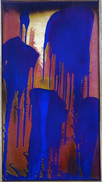 Untitled Fire-Color Painting, c.1962 - Ив Кляйн