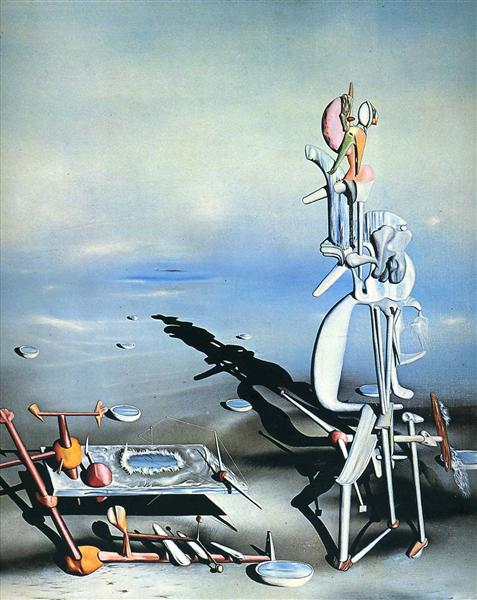 Indefined Divisibility, 1942 - Yves Tanguy