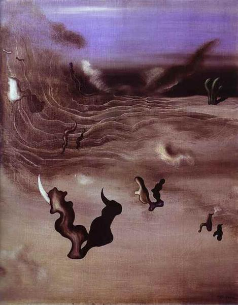 Wind, 1927 - Yves Tanguy